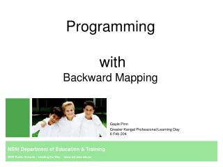 Programming  with Backward Mapping
