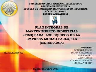 ING.PAULA MORAO