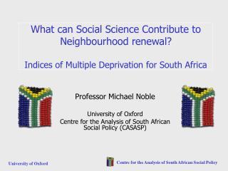 Professor Michael Noble University of Oxford