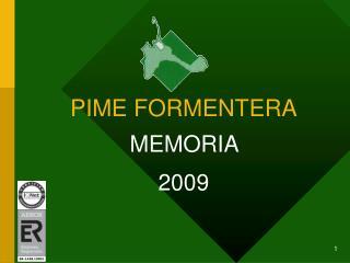 PIME FORMENTERA