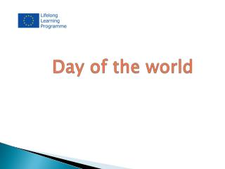 Day of the world