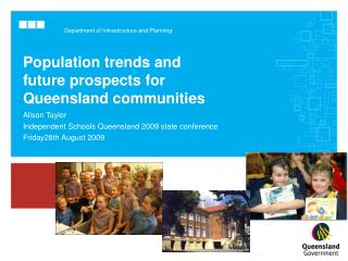 Population trends and future prospects for Queensland communities