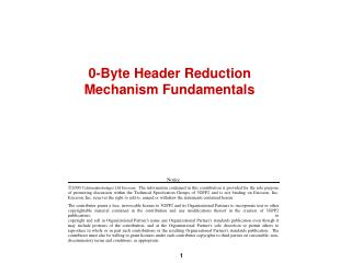 0-Byte Header Reduction Mechanism Fundamentals