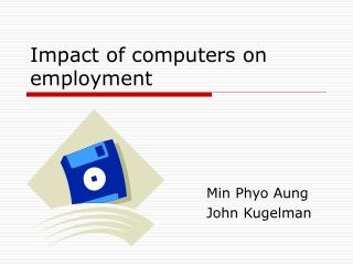 Impact of computers on employment