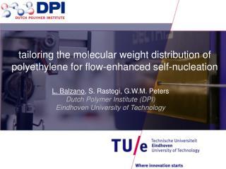 L.  Balzano , S.  Rastogi , G.W.M. Peters Dutch Polymer Institute (DPI)