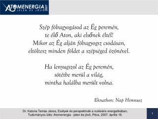 Eknathon: Nap Himnusz