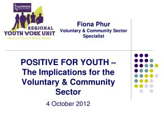 Fiona Phur Voluntary & Community Sector Specialist