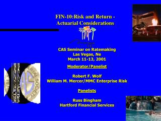 FIN-10:Risk and Return - Actuarial Considerations