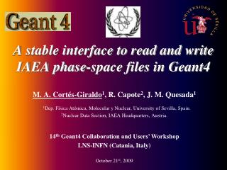 A stable interface to read and write IAEA phase-space files in Geant4