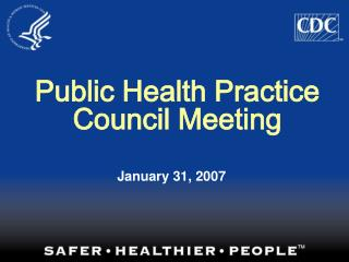 Public Health Practice Council Meeting
