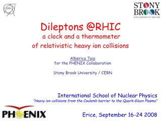 Dileptons @RHIC  a clock and a thermometer  of relativistic heavy ion collisions