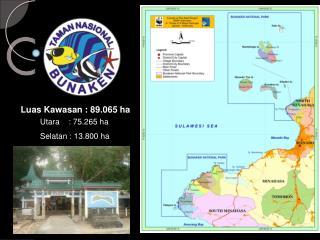 Luas Kawasan : 89.065 ha