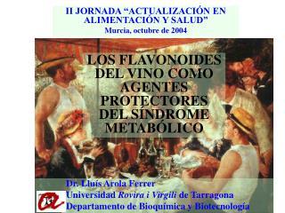 """II JORNADA """"ACTUALIZACIÓN EN ALIMENTACIÓN Y SALUD"""" Murcia, octubre de 2004"""