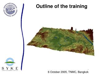 Outline of the training