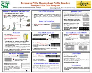 Developing PHEV Charging Load Profile Based on Transportation Data Analyses