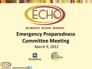 Emergency Preparedness Committee Meeting