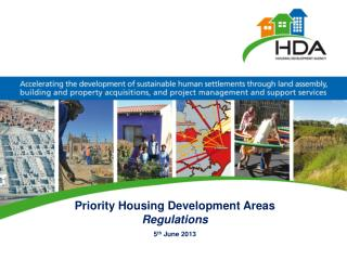 Priority Housing Development Areas  Regulations 5 th  June 2013