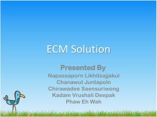 ECM Solution