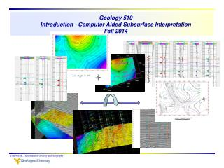 Geology 510 Introduction - Computer Aided Subsurface Interpretation Fall 2014