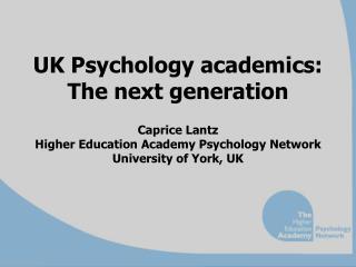The Higher Education Academy (HEA)