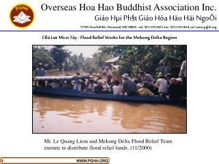 Overseas Hoa Hao Buddhist Association Inc. Giáo Hµi Ph§t Giáo Hòa Häo Häi NgoÕi