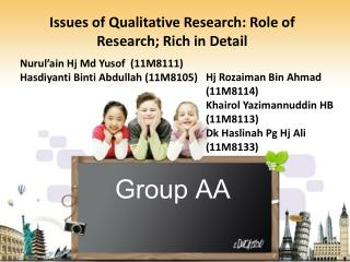 Group AA