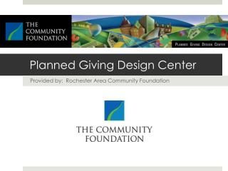 Planned Giving Design Center