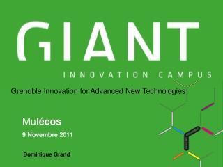Grenoble Innovation for Advanced New Technologies