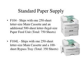 Standard Paper Supply