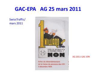 GAC-EPA   AG 25 mars 2011