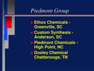 Piedmont Group