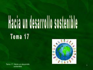 Hacia un desarrollo sostenible