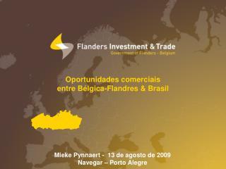 Oportunidades comerciais entre Bélgica-Flandres & Brasil