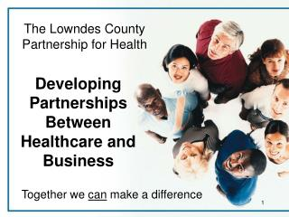 Developing Partnerships Between Healthcare and Business