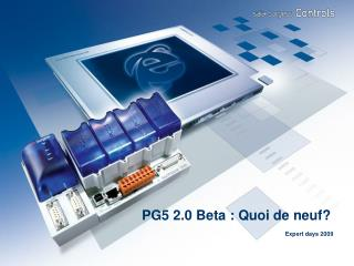 PG5 2.0 Beta : Quoi de neuf?