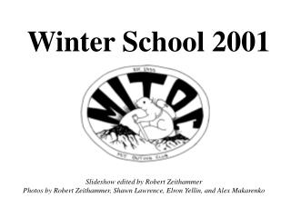 Winter School 2001
