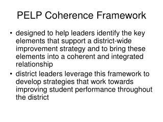 PELP Coherence Framework