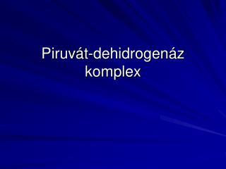Piruv�t-dehidrogen�z komplex