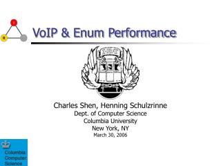 VoIP & Enum Performance