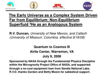 Jet Propulsion Laboratory California Institute of Technology