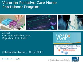 Victorian Palliative Care Nurse Practitioner Program