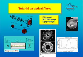 Tutorial on optical fibres