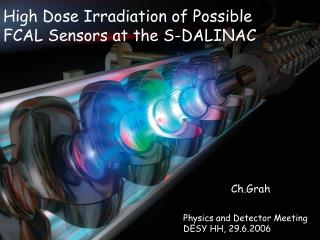 High Dose Irradiation of Possible FCAL Sensors at the S-DALINAC