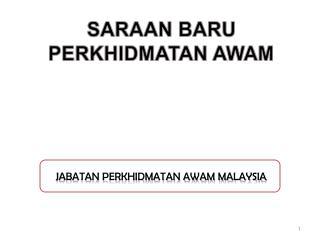 JABATAN PERKHIDMATAN AWAM MALAYSIA