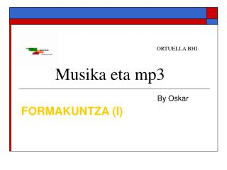 Musika eta mp3