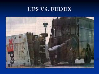 UPS VS. FEDEX