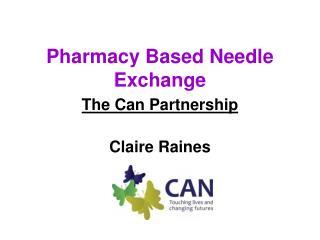 Pharmacy Based Needle Exchange