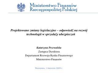 Projektowane zmiany legislacyjne – odpowiedź na rozwój technologii w sprzedaży ubezpieczeń