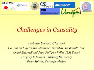 Challenges in Causality