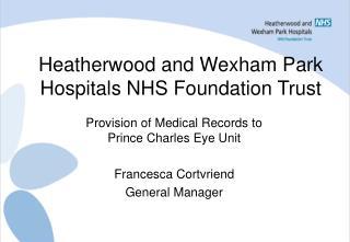 Heatherwood and Wexham Park Hospitals NHS Foundation Trust